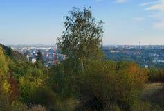 Veiw d'automne de Prague Photographie stock