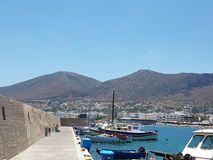 Veiw da montanha do porto Imagem de Stock