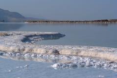 Veiw del mar muerto fotografía de archivo