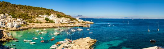 A veiw of Levanzo Island, Sicily, royalty free stock photography