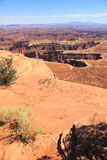 Canyonlands park narodowy Obrazy Stock