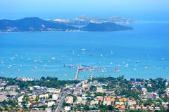 Veiw of Phuket, Thailand Royalty Free Stock Photography