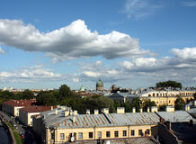 Veiw of Saint Petersburg. Veiw from roof on Saint Petersburg, Russia Stock Photography