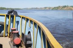 Veiw to Oka river Royalty Free Stock Image