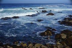 Veja a água Half Moon Bay Imagem de Stock Royalty Free