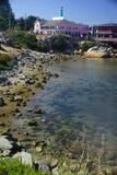 Veja a água Half Moon Bay Fotos de Stock Royalty Free