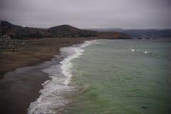 Veja a água Half Moon Bay Fotos de Stock