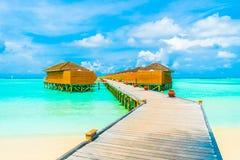 Veja no console de Maldives do avião Imagem de Stock Royalty Free