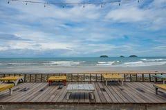 Veja o mar sadio Imagens de Stock