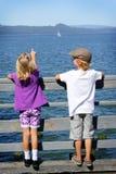 Veja o sailboat Imagem de Stock Royalty Free