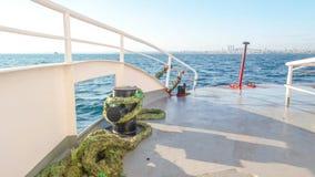 Veja sobre a plataforma de barcos Fotos de Stock