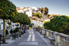 Vejer de la Frontera seafront Royalty Free Stock Images