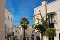 Vejer houses stock photography