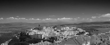 Vejer Panoramic Royalty Free Stock Photos