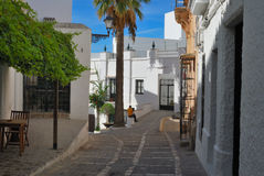 Vejer Street Royalty Free Stock Image