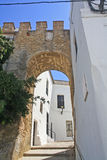 Vejer, typical Andalusian village. Royalty Free Stock Image