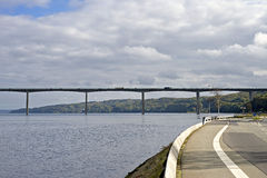 Vejle Fjord Bridge Stock Photos