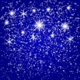 Vektor-abstrakte frohe Weihnachten oder neues Jahr Lizenzfreie Stockfotografie
