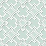 Vektor-abstrakte nahtlose geometrische islamische Tapete Stockfotos