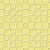Vektor-abstrakte nahtlose geometrische islamische Tapete Lizenzfreie Stockfotografie