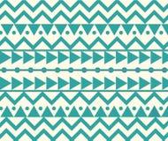 Vektor-abstrakte Stammes- ethnische Muster-Hintergrund-Illustration Lizenzfreie Stockfotos