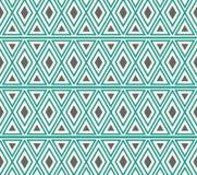 Vektor-abstrakte Stammes- ethnische Muster-Hintergrund-Illustration Lizenzfreie Stockfotografie