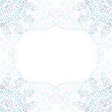 Vektor-abstrakter leichter Rahmen Lizenzfreies Stockfoto