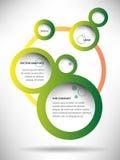 Vektor-abstrakter Netz-Entwurfs-Blasen-Hintergrund Stockbild