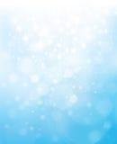 Vektor abstraktes blaues bokeh spielt Hintergrund die Hauptrolle Lizenzfreie Stockfotos
