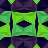 Vektor-abstraktes geometrisches nahtloses Muster-Design Lizenzfreies Stockfoto