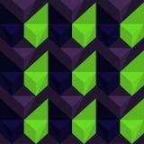 Vektor-abstraktes geometrisches nahtloses Muster-Design Lizenzfreies Stockbild