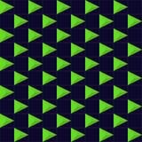 Vektor-abstraktes geometrisches nahtloses Muster-Design Stockfotos