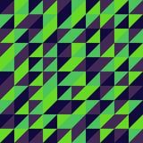 Vektor-abstraktes geometrisches nahtloses Muster-Design Lizenzfreie Stockfotos