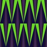 Vektor-abstraktes geometrisches nahtloses Muster-Design Stockfotografie