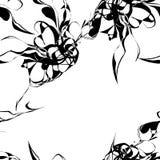 Vektor abstraktes seamlessl Muster lizenzfreie abbildung