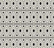 Vektor-afrikanische ethnische Muster-Zusammenfassungs-Hintergrund-Illustration Lizenzfreies Stockbild