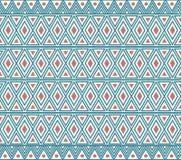 Vektor-afrikanische ethnische Muster-Zusammenfassungs-Hintergrund-Illustration Stockbild