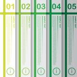 Vektor-Arbeit, abstrakte Fahnen-Schablone für Design und kreativer Wo Stockfoto