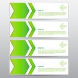 Vektor-Arbeit, moderner abstrakter Titel für Design und kreative Arbeit Stockbild