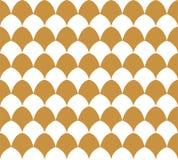 Vektor Art Deco Style Seamless Pattern abstrakt bakgrundsprydnad Royaltyfri Foto