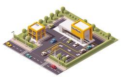 Vektor-Autowäsche Stockfotos