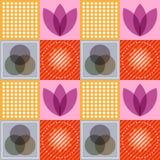 Vektor av abstrakt färgrik sömlös modellbakgrund Royaltyfri Foto