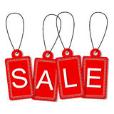 Vektor av försäljningsetiketten Royaltyfri Fotografi