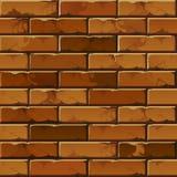 Vektor-Backsteinmauer-Hintergrund-Beschaffenheits-Muster stock abbildung