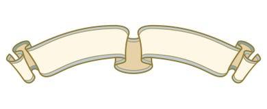 Vektor - barocka ramar och dekorativa beståndsdelar - tappningbaner med bandet vektor illustrationer