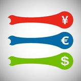Vektor bearbeitet Farbsatz ENV Lizenzfreie Stockfotos