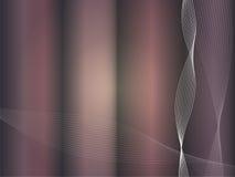 Vektor bewegt in Disco-Farben 2 wellenartig Lizenzfreie Stockfotografie