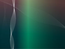 Vektor bewegt in Disco-Farben wellenartig Lizenzfreie Stockfotos