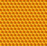 Vektor-Bienenwaben Lizenzfreie Stockfotos