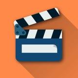 Vektor-Bildfilmscharnierventil Stockbilder